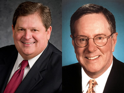 Mike Robertson, host of Straight Talk Money, and Steve Forbes, Chairman of Forbes Media