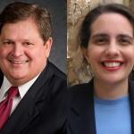 Mike Robertson and Dr. Nayantara Hensel