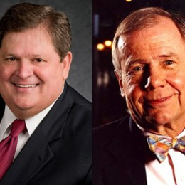 Mike Robertson, host of Straight Talk Money, and Jim Rogers, Chairman of Rogers Holdings