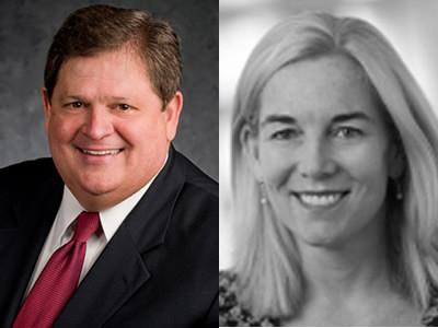 Mike Robertson, host of Straight Talk Money, and Heidi Richardson, Director & Global Investment Strategist at BlackRock