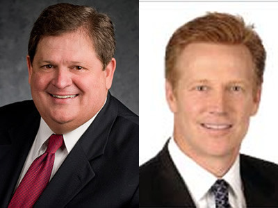 Mike Robertson, host of Straight Talk Money, and Tom Samuelson, CFA, Senior Portfolio Manager at First Allied Asset Management