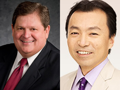Mike Robertson, host of Straight Talk Money, and Japanese Political Commentator Yuki Oikawa