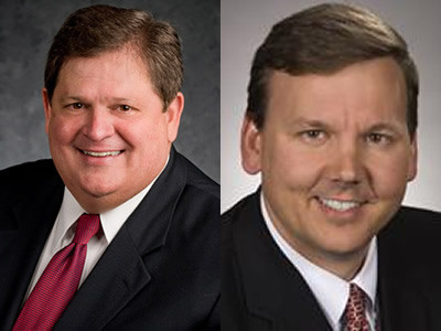 Mike Robertson, host of Straight Talk Money, and Derrick Ragland, Executive VP at HSBC