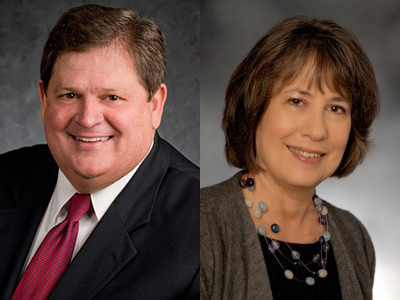 Mike Robertson, host of Straight Talk Money, and Sheila Bair, author of The Bullies of Wall Street and the 19th Chairman of the Federal Deposit Insurance Corporation
