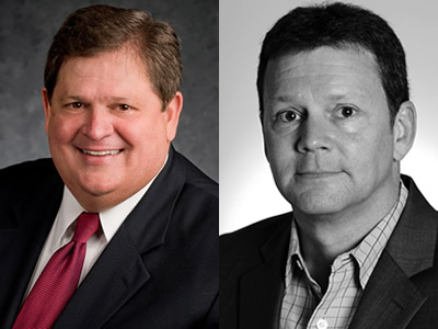 Mike Robertson, host of Straight Talk Money, and Rick Newman, Yahoo! Finance columnist and author of Liberty for All