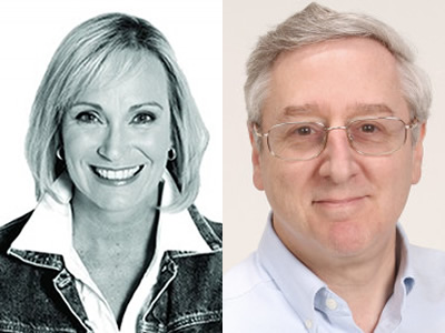 Peggy Tuck, host of Straight Talk Money, and Richard Eisenberg, author of How to Avoid a Mid-Life Financial Crisis